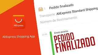 ALIEXPRESS: PEDIDO FINALIZADO. O QUE FAZER?
