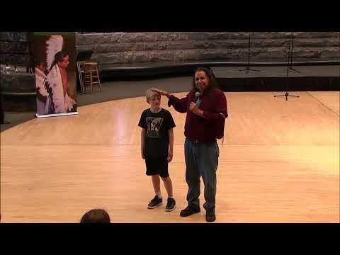 Cherokee Days 2018 - Storyteller Robert Lewis