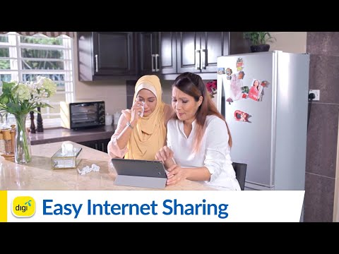 Internet Sharing with Digi Postpaid is easy!