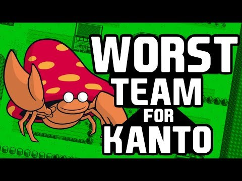 Worst Team for Kanto