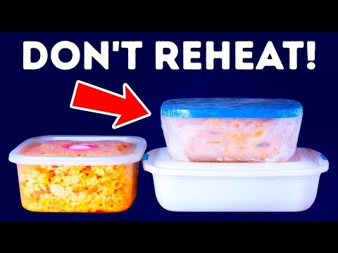 Don't Reheat These 10 Foods Under Any Circumstances