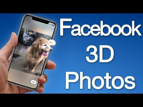 How to Enable & Use 3D Photos on Facebook - Upload 3D Photos from iPhone or Android Phone