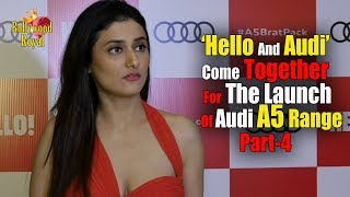 'Hello And Audi' Come Together For The Launch Of Audi A5 Range With Part-4