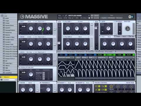 How to Make a Classic High Pitched Dubstep Synth in Massive by Xenith