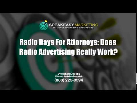 Radio Days for Attorneys: Does Radio Advertising Really Work? | (888) 225-8594