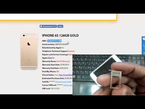 How To Check Iphone IMEI Number | Find My Iphone Status Free | Iphone 6S IMEI Check