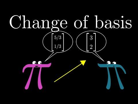 Change of basis | Essence of linear algebra, chapter 9