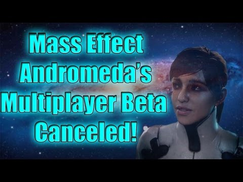 Mass Effect Andromeda's Multiplayer Beta Canceled!