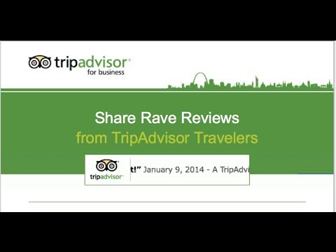Share rave reviews from TripAdvisor on your own website | Business Tips & Coaching