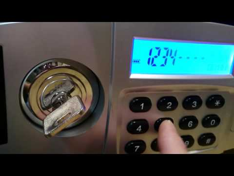 Honeywell Safe 2115 pass code reset.