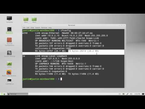 how to check bandwidth usage in Linux Mint 13