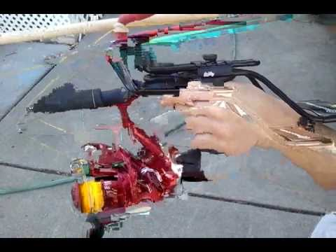 Slingshot fishing bow
