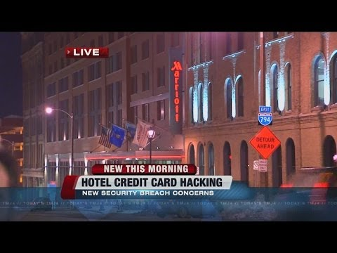 Hotel credit card hacking