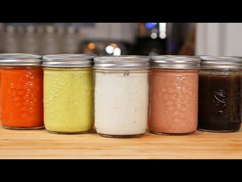 5 Homemade Salad Dressings | Collab with Entertaining with Beth