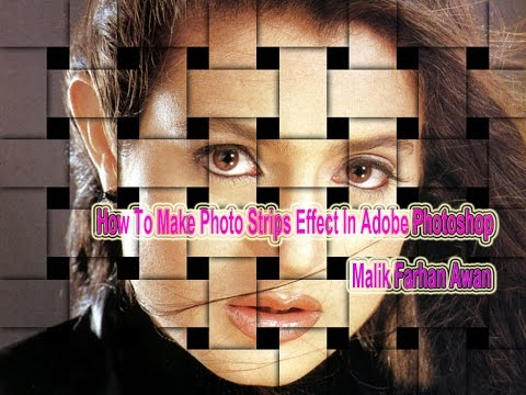 How To Make Photo Strips Effect In Adobe Photoshop