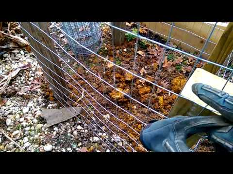 How to build a composting pit