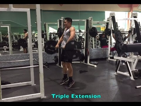 Jump Higher with Hang Power Cleans