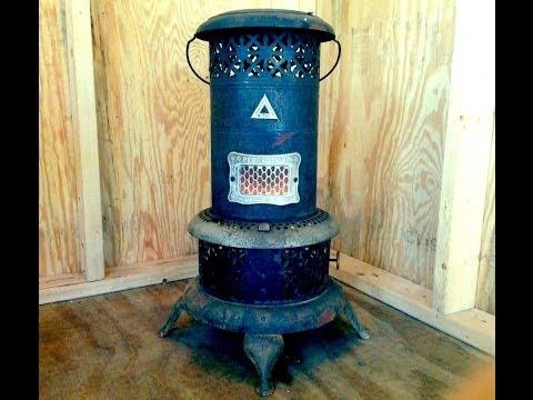 100 year old tiny house heater