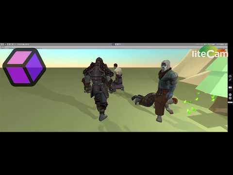 Unity3d ragdoll melee fight