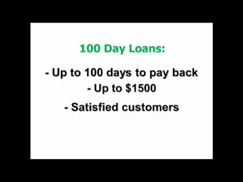 100 Day Loans - TESTED For Quick Payday Loans! | 100 Day Loans