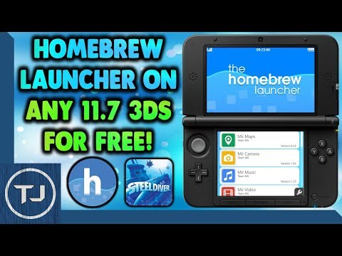 Install The Homebrew Launcher On Any 3DS 11 7 For FREE! (Steelminer