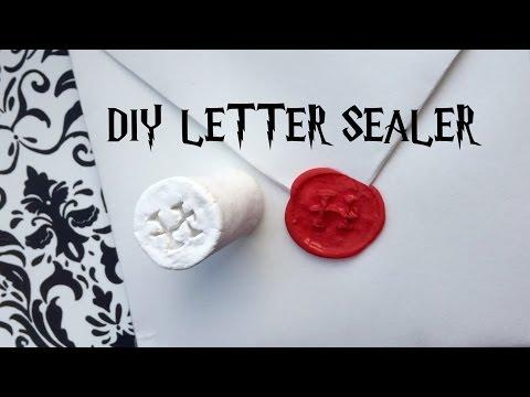 DIY letter sealer