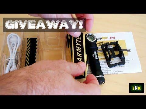 Armytek Cree LED Multi-Flashlight Giveaway!