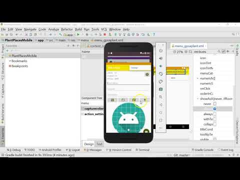 Add a Menu to an Android application with XML