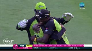 Highlights: Sixers v Thunder - BBL06