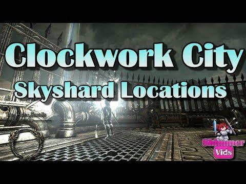 ESO: Clockwork City Skyshard Locations