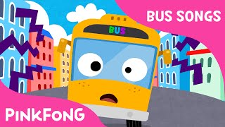 The Wheels on the Yellow City Bus | Bus Songs | Car Songs | PINKFONG Songs