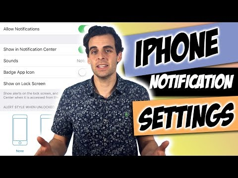 How to Change iPhone Notification Settings