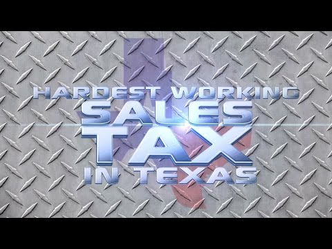 The Hardest Working Sales Tax In Texas!