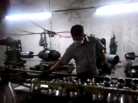 Stainless steel kettle polish