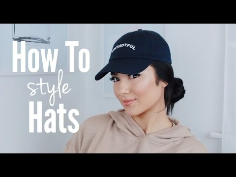 How I Style My Hair w/ Hats! | Faye Claire