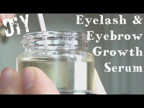 Eyelash And Eyebrow Growth Serum ♥ DIY