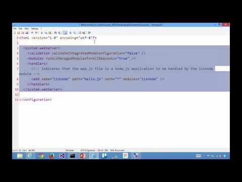 Making multi-language Azure Web Sites with PHP, node.js, .NET - Azure Friday