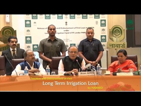 Sanction and Disbursement of First Long Term Irrigation Loan by NABARD