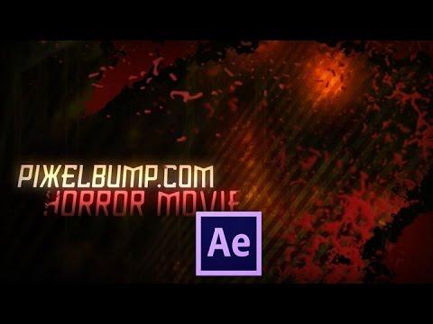 PixelBump - Tutorial 17 - Horror Movie Title