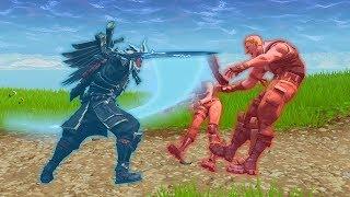 CRAZIEST Infinity Blade Kills! FAILS vs LUCKY vs PROS - Fortnite Funny Moments