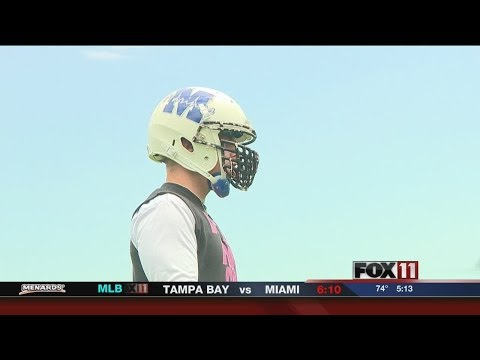 Semipro football player gets NFL tryout