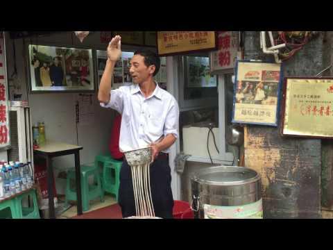Ciqikou, Chongqing potato starch noodle-making