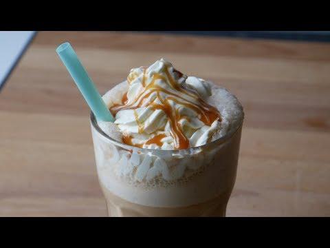 Caramel Frappuccino Selber Machen (Rezept)    Homemade Caramel Frappuccino (Recipe)    [ENG SUBS]