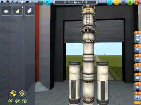 Kerbal Space Program Demo: Flying To The Sun (part 1)