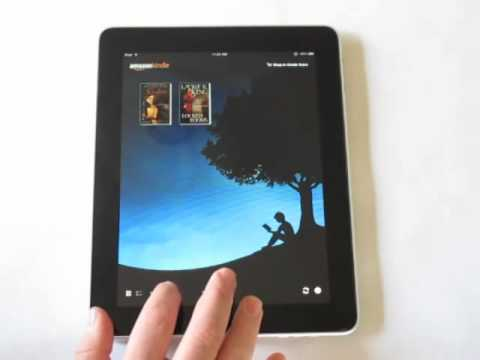 iPad Book Reading Apps Demo Part I: iBooks and Kindle