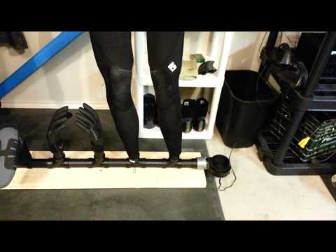 DIY Wetsuit dryer