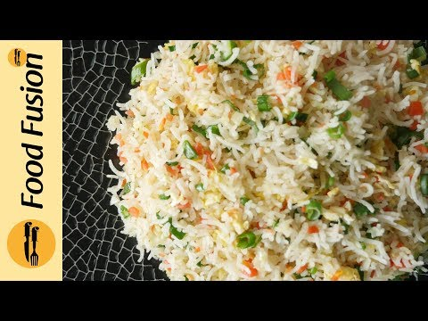 Chinese Fried Rice - restaurant style  Recipe By Food Fusion