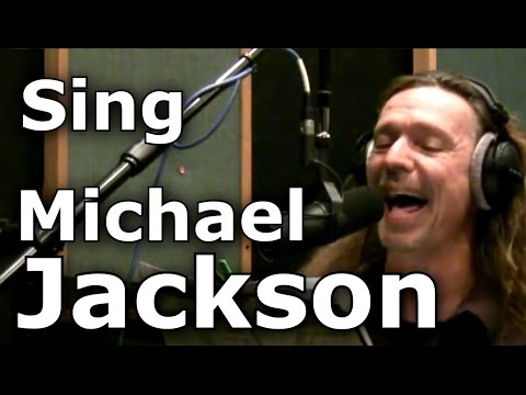 How To Sing Michael Jackson Songs - Ken Tamplin Vocal Academy - Voice Coach - Lessons