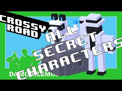 ★ CROSSY ROAD Space Update | ALL SECRET CHARACTERS Unlocked (September 2017)