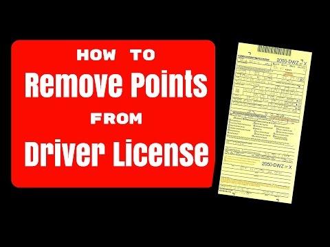 DMV point reduction